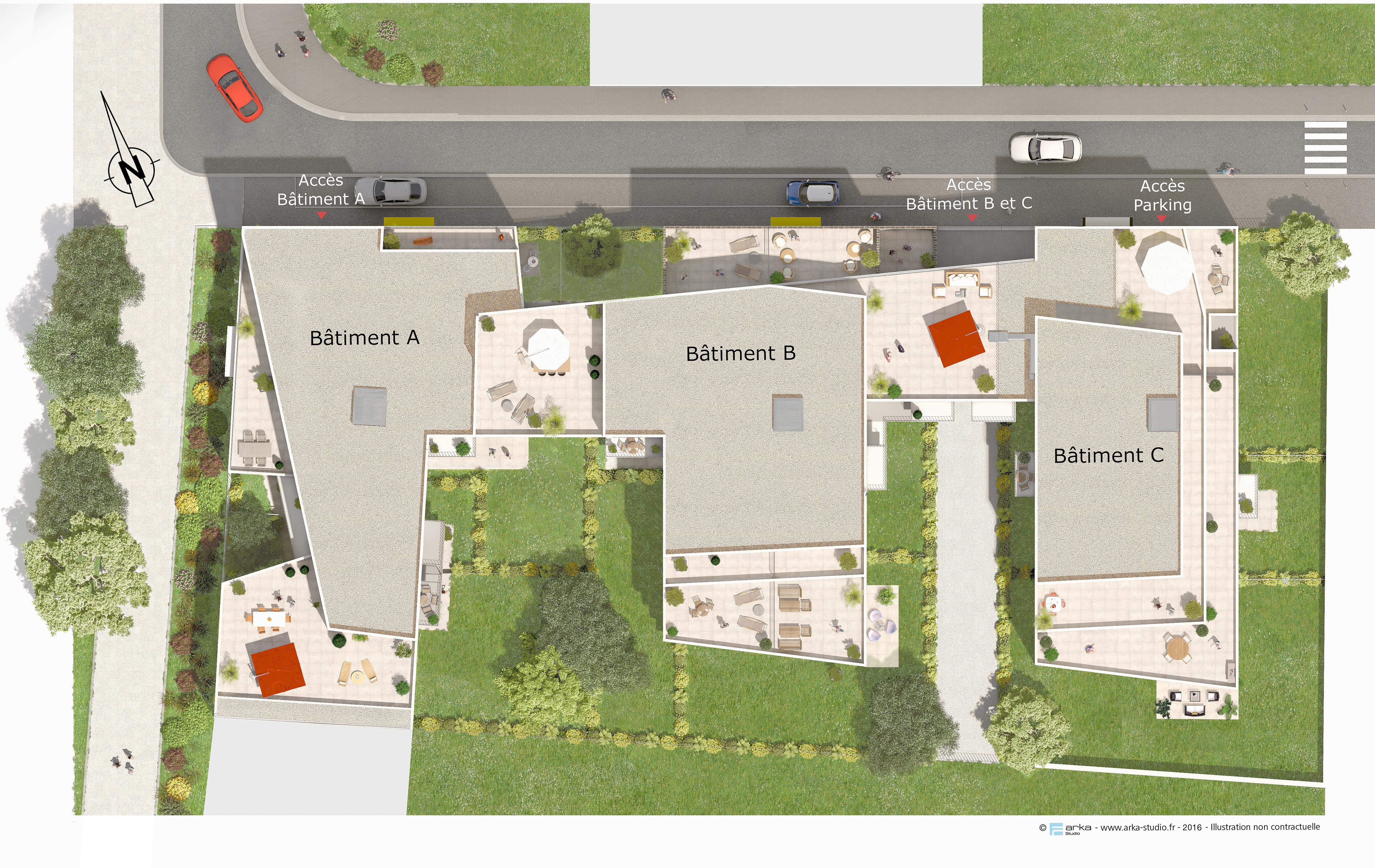 Plan Masse Pour La Promotion De L Immobilier En Vefa Arka Studio